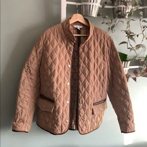 Relativity quilted riding coat